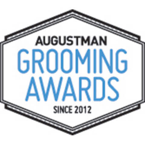 Augustman Grooming Awards Since 2012