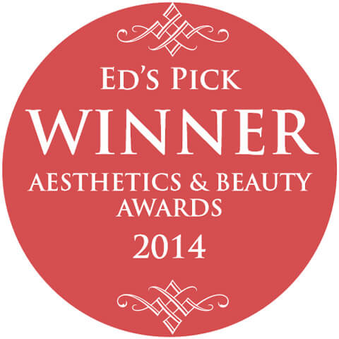 EDs Pick Winner Aesthetics & Beauty Awards 2014