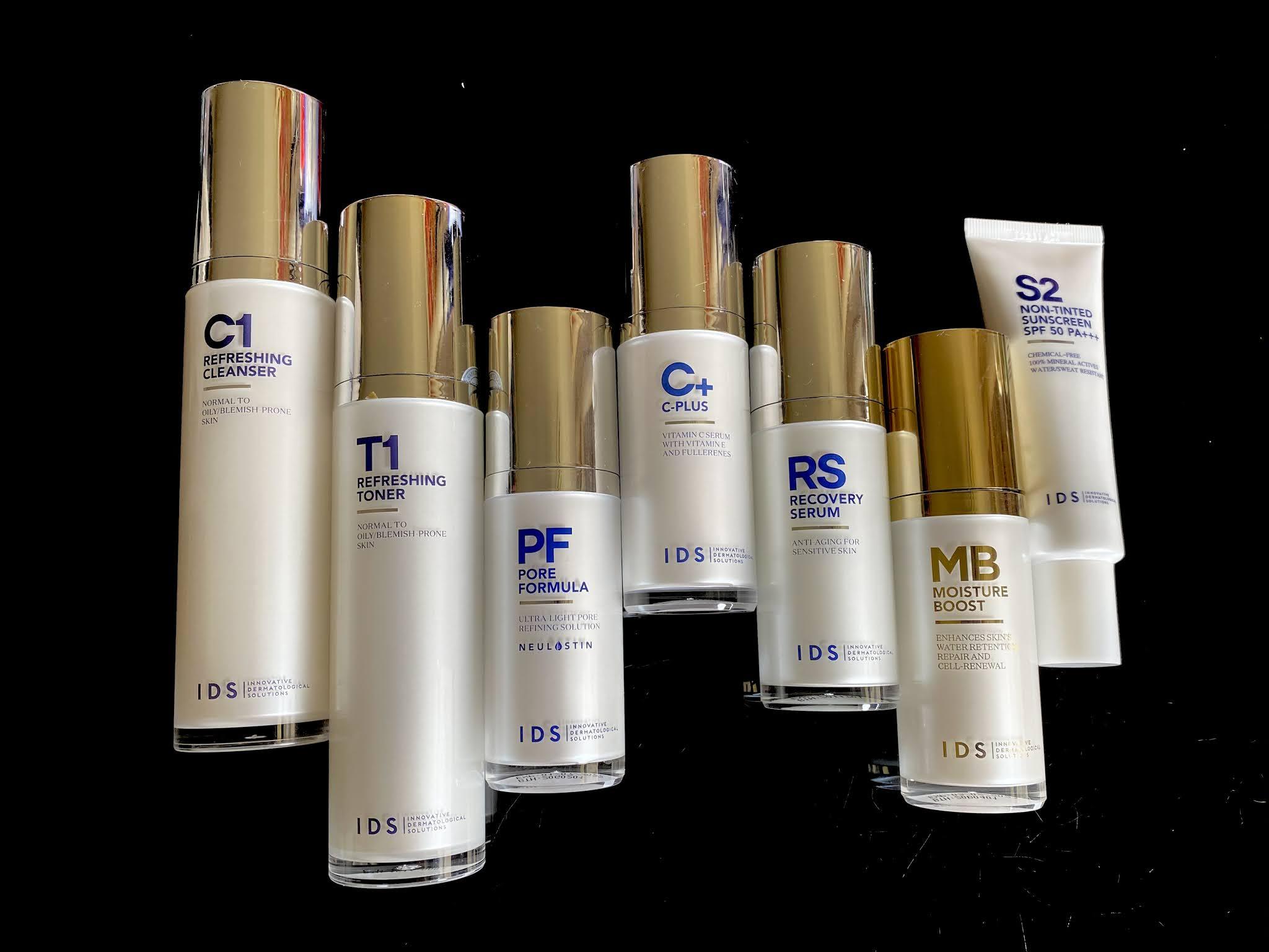 [ Yi Tsing ] IDS Skincare Product Review