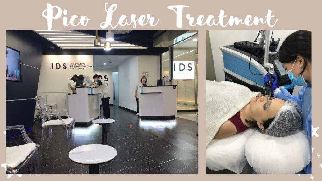 [ Deenise ] I went for a Pico Laser Treatment and it went like this