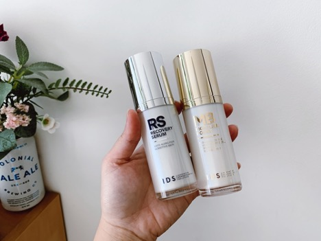 IDS Recovery Serum and Moisture Boost