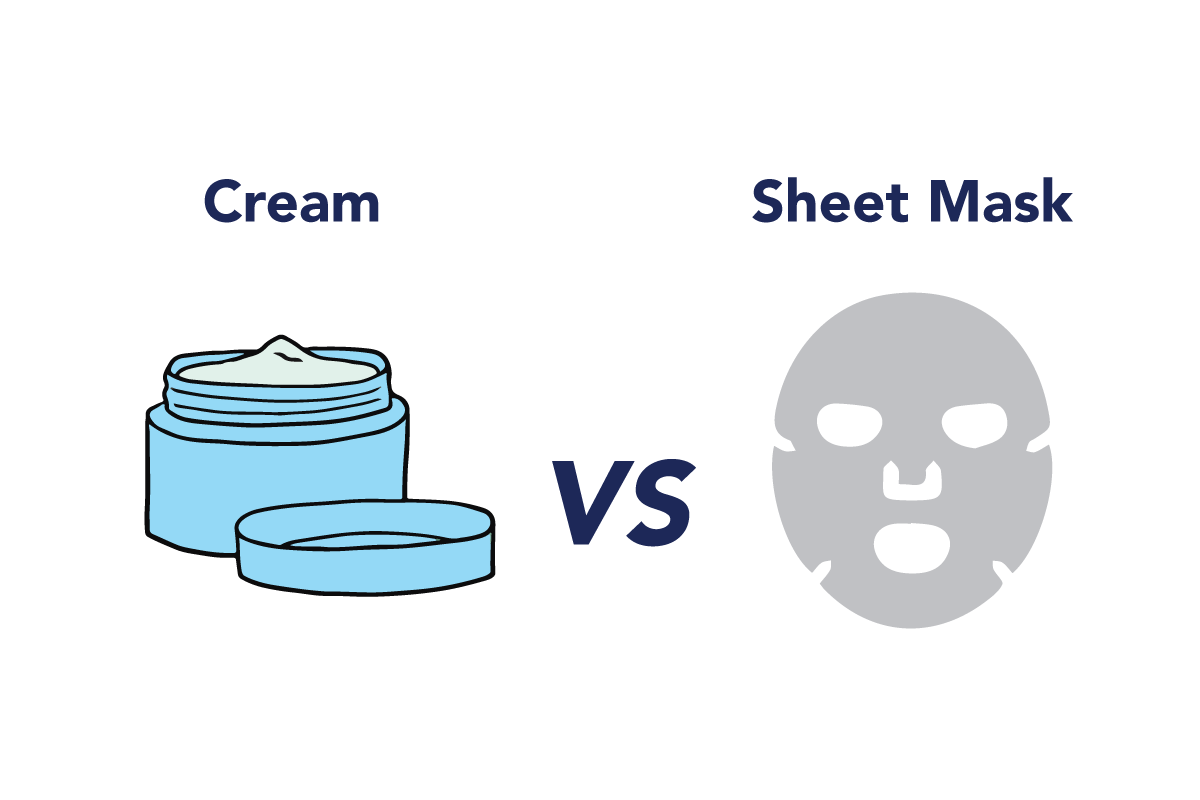 Cream Vs Sheet Mask – Which Is Better?