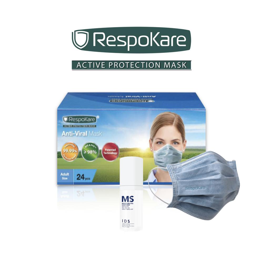 Anti-Viral Mask (RespoKare) 24's
